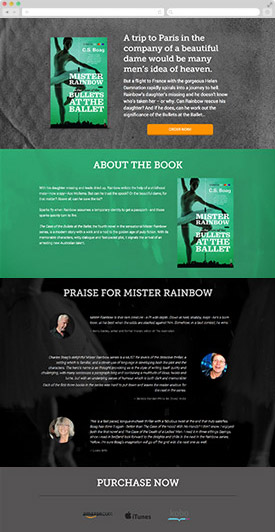 booklaunch example page